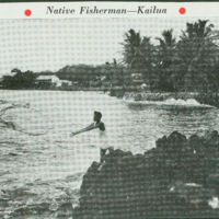 [086] Native Fisherman - Kailua