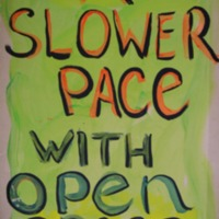 A Slower Pace with Open Space