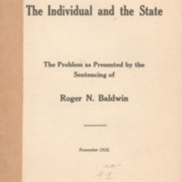 Individual and the state the problem as presented by…