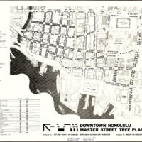 Downtown Honolulu master street tree plan
