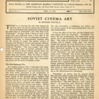 Research bulletin on the Soviet Union (2 v., 1936-1937)