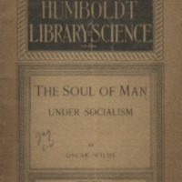 Soul of man under Socialism: the Socialist ideal-art…