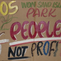 In 1970 SOS won Sand Island Park for People not profits