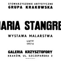 Maria Stangret