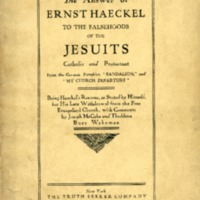 Answer of Ernst Haeckel to the falsehoods of the…