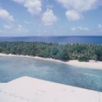 Aerial View of Ulithi Atoll - 1