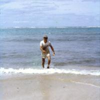 Man at a beach