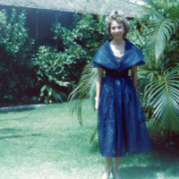Betty Esmoille, 252-A Beach Walk. Waikiki. 25 Mar. 1951