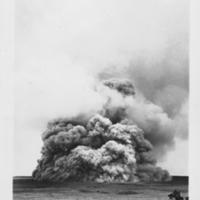 Ash Plume at Kilauea Volcano