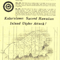 Kaho'olawe: sacred Hawaiian island under attack!