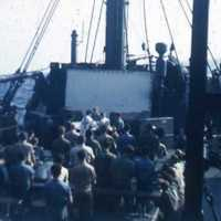 Catholic Mass on the USS Tazewell
