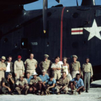 Runway, Angaur [Palau]. 14 Feb. 1950