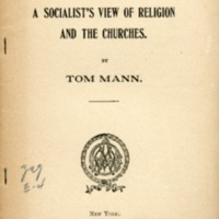 Socialist's View of Religion and the Churches