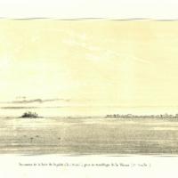 Panorama de la baie de Papeiti (ile d'O-Taiti.), pris…