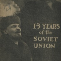 15 years of the Soviet Union.