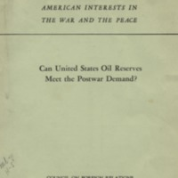 American interests in the war and peace: can United…