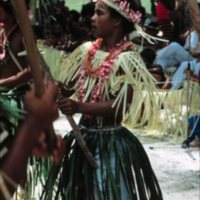 Girl Dancing at Outer Islands High School (OIHS)…