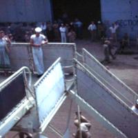 June Beckler. Lv. Via USS Randall with Deputy High…