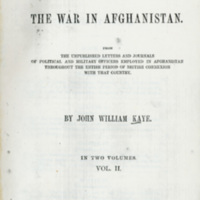 History of The War in Afghanistan (Vol. II)