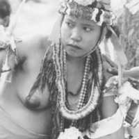 Yapese woman dancer, 1969. (N-1914a. 07).