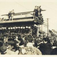 A festival float (Dashi 山車) near Nikko, Japan