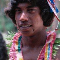 Thomas Raffipiy, Mau Piailug's Nephew, at the 1984…