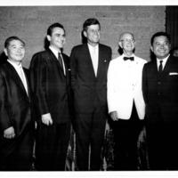 Mitsuyuki Kido, Frank Fasi, President John F. Kennedy,…