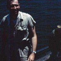 C.A.P. Pilot Johnson, NAS Kwajalein. Yap. Sept. 1950