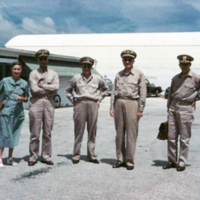 Capt. & Mrs. Holt, Capts. Miller, Ragonnet, & Krick,…