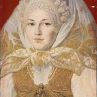 Traditional Russian woman with kokoshnik