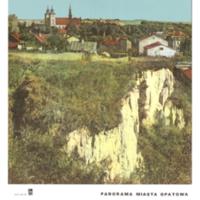 Ziemia Kielecka: panorama miasta opatowa