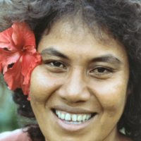 Angelina Nespainug McCoy. Satawal Island.…