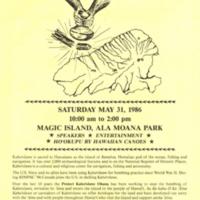 Protect Hawaiian culture! Stop RIMPAC bombing of…
