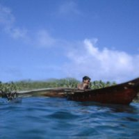 Young Man in a Canoe