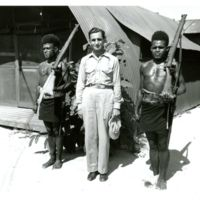 With two native policemen, Yawa and Bolgi, warriors…