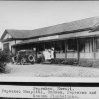 Pepeekeo Hospital, Onomea, Pepeekeo and Honomu…
