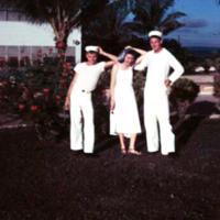 Crawford, Irene & Barnes. ComMar Hill. Guam. 13 Nov.…