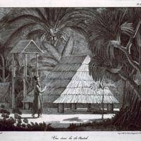 Vue dans les Iles Radak