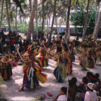 Dancers at Outer Islands High School (OIHS) graduation…