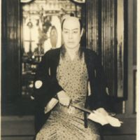 Kaizawa 1-130: Kabuki actor- Bando, Jusaburo III, 坂東,…