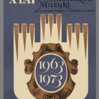 X Lat, klubu miłośników muzyki. 1963-1973