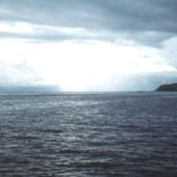 Truk Lagoon. Sept. 1950