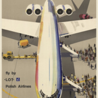 Fly by LOT Polish Airlines