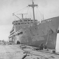 Tsukushi Maru (ship), Saipan, February 1946.…
