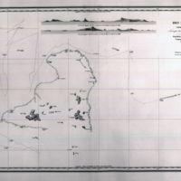 Carte des Iles Hogolau (Archipel des Iles Carolines)