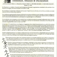 Pakaukau: definition, mission & declaration