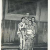 Kaizawa 2-131: Group photo of Alexander Calhoun and…