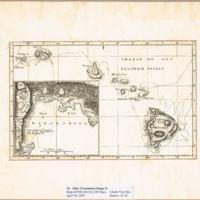 Charte von den Sandwich Inseln