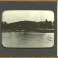Distant view of Itsukushima-jinja