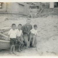 Kaizawa 2-139: Group photo of Alexander Calhoun and…